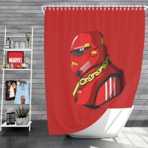 Star Wars Movie Stormtrooper Sci-Fi Space Shower Curtain
