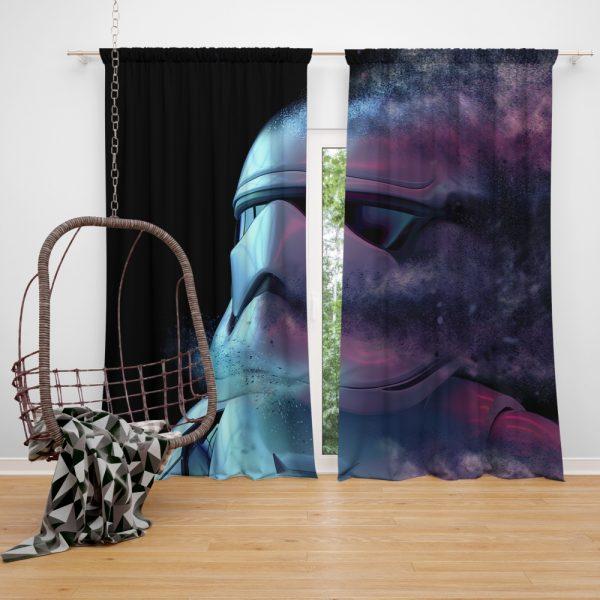 Star Wars Movie Stormtrooper Window Curtain