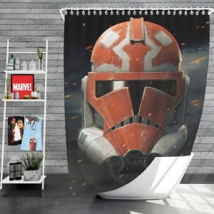 Star Wars The Clone Wars TV Show Clone Trooper Shower Curtain