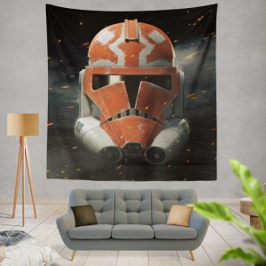 Star Wars The Clone Wars TV Show Clone Trooper Wall Hanging Tapestry