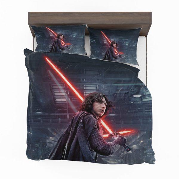Star Wars The Last Jedi Movie Adam Driver Kylo Ren Bedding Set 2