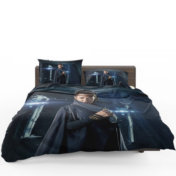 Star Wars The Last Jedi Movie Carrie Fisher Leia Organa Bedding Set 1