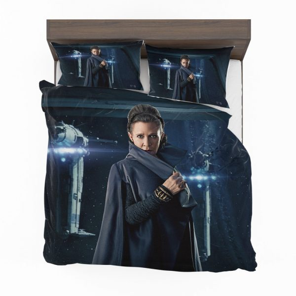 Star Wars The Last Jedi Movie Carrie Fisher Leia Organa Bedding Set 2