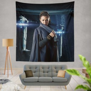 Star Wars The Last Jedi Movie Carrie Fisher Leia Organa Wall Hanging Tapestry