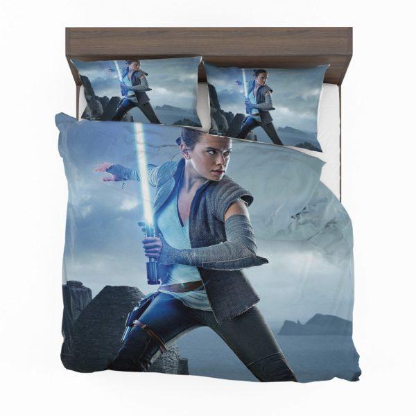 Star Wars The Last Jedi Movie Daisy Ridley Jedi Rey Star Wars Bedding Set 2