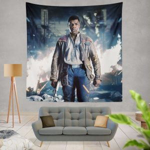 Star Wars The Last Jedi Movie Finn John Boyega Wall Hanging Tapestry