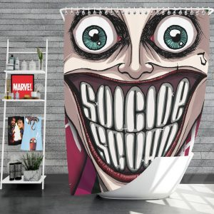 Suicide Squad Movie DC Comics Joker Shower Curtain