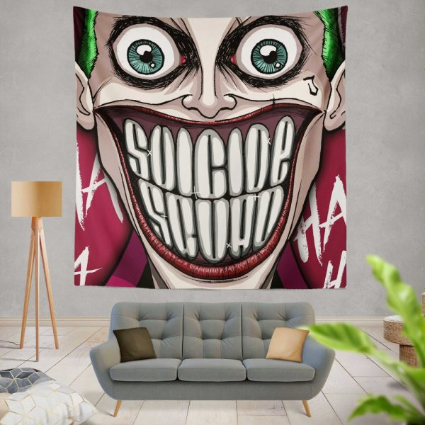 Suicide Squad Movie DC Comics Joker Wall Hanging Tapestry