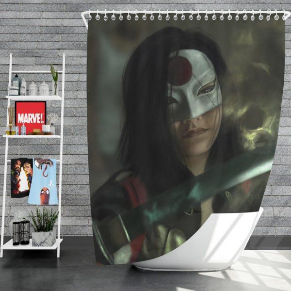 Suicide Squad Movie DC Comics Karen Fukuhara Katana Shower Curtain