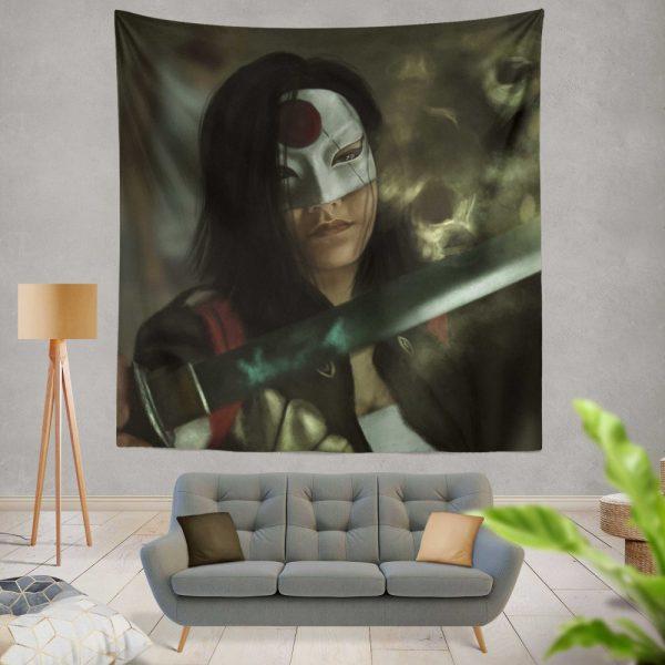 Suicide Squad Movie DC Comics Karen Fukuhara Katana Wall Hanging Tapestry