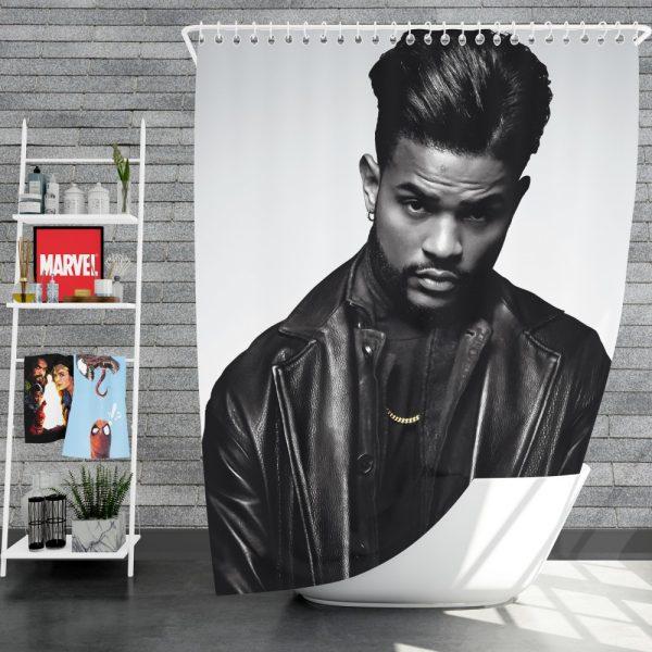 SuperFly Movie Trevor Jackson Shower Curtain