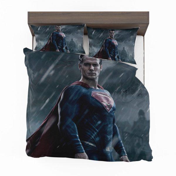 Superman in Batman v Superman Dawn of Justice Movie Bedding Set 2
