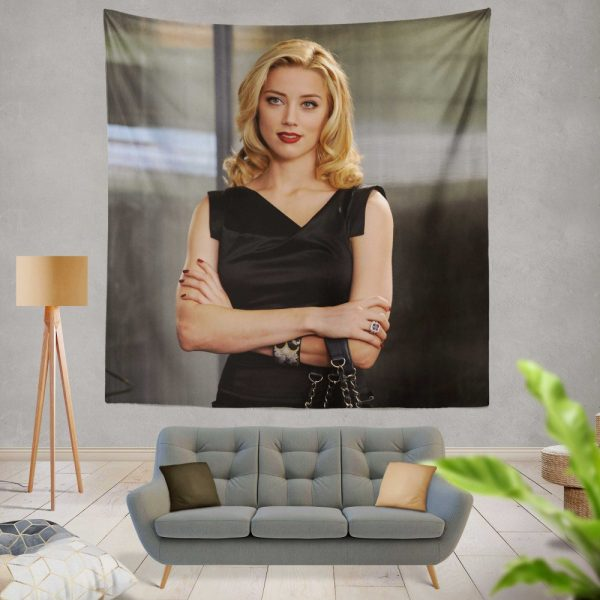 Syrup Movie Amber Heard Blonde Wall Hanging Tapestry