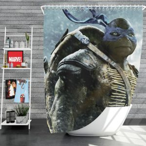 Teenage Mutant Ninja Turtles Movie Shower Curtain