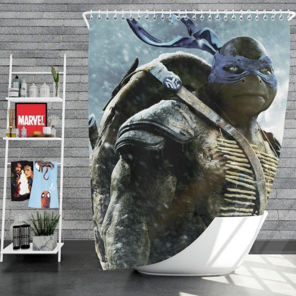 Teenage Mutant Ninja Turtles Movie Shower Curtain