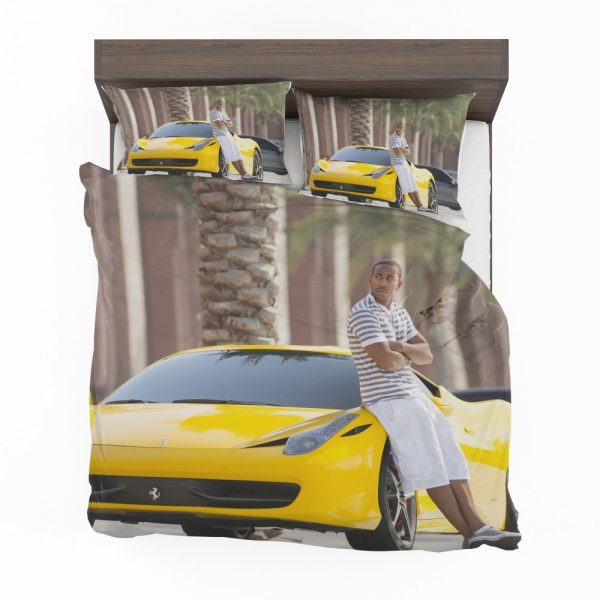Tej Ludacris in Furious 7 Fast & Furious Movie Bedding Set 2