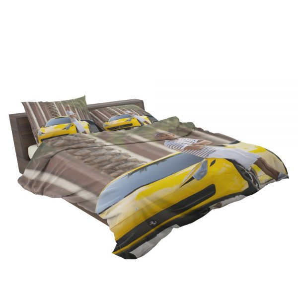 Tej Ludacris in Furious 7 Fast & Furious Movie Bedding Set 3