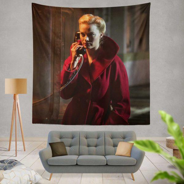 Terminal Movie Margot Robbie Wall Hanging Tapestry