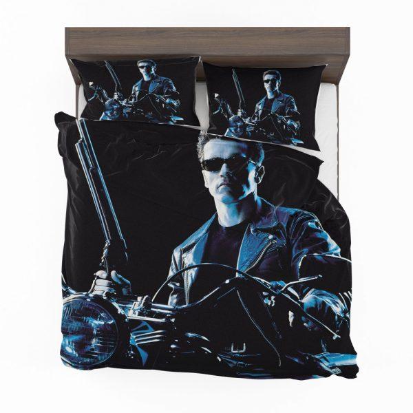 Terminator 2 Judgment Day Movie Arnold Schwarzenegger Bedding Set 2