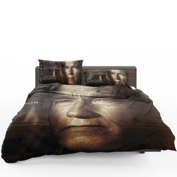 Terminator Genisys Movie Terminator Arnold Schwarzenegger Bedding Set 1