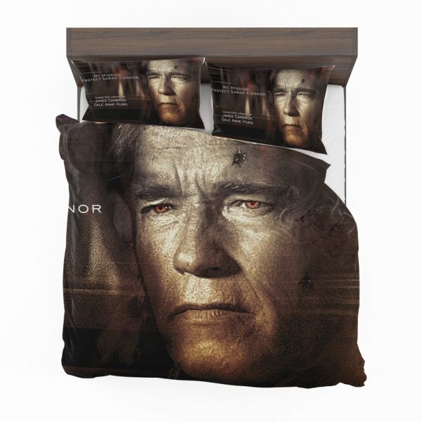 Terminator Genisys Movie Terminator Arnold Schwarzenegger Bedding Set 2