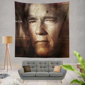 Terminator Genisys Movie Terminator Arnold Schwarzenegger Wall Hanging Tapestry