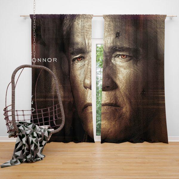Terminator Genisys Movie Terminator Arnold Schwarzenegger Window Curtain