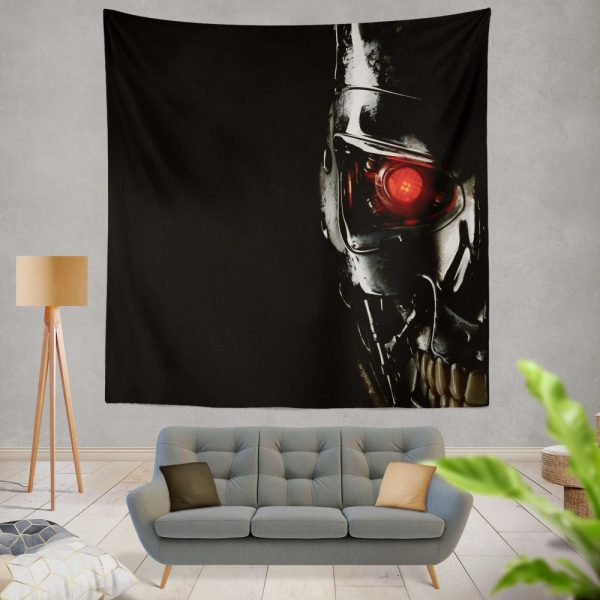 Terminator Movie Genisys Wall Hanging Tapestry