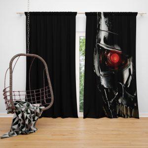 Terminator Movie Genisys Window Curtain