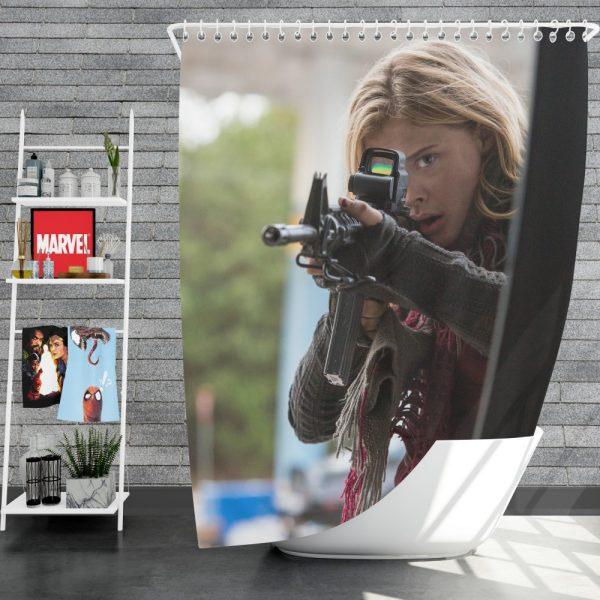 The 5th Wave Movie Chloë Grace Moretz Shower Curtain