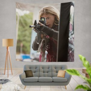 The 5th Wave Movie Chloë Grace Moretz Wall Hanging Tapestry