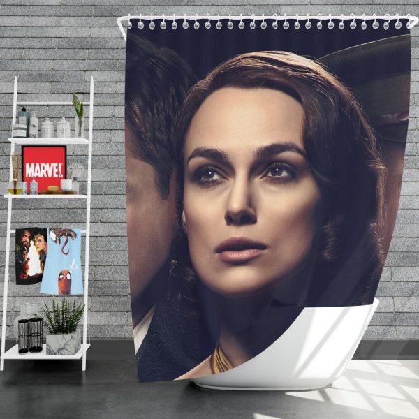 The Aftermath Movie Keira Knightley Alexander Skarsgard Jason Clarke Shower Curtain
