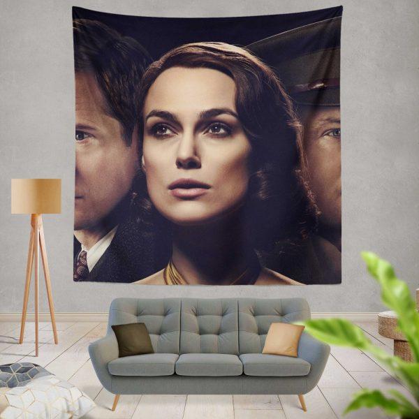 The Aftermath Movie Keira Knightley Alexander Skarsgard Jason Clarke Wall Hanging Tapestry