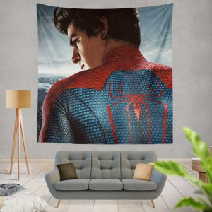 The Amazing Spider-Man Movie Andrew Garfield Wall Hanging Tapestry