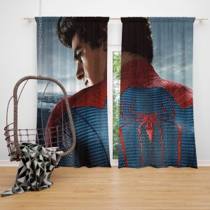 The Amazing Spider-Man Movie Andrew Garfield Window Curtain