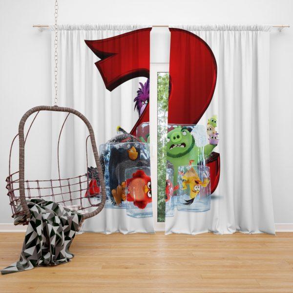 The Angry Birds Movie 2 Movie Window Curtain