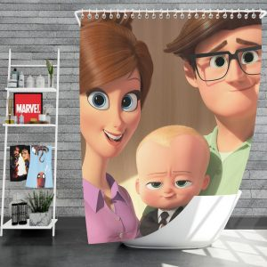 The Boss Baby Movie Shower Curtain