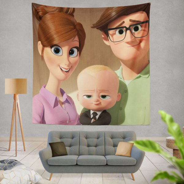 The Boss Baby Movie Wall Hanging Tapestry