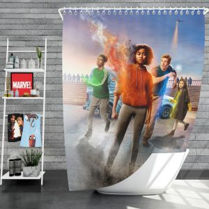 The Darkest Minds Movie Amandla Stenberg Sci Fi Shower Curtain