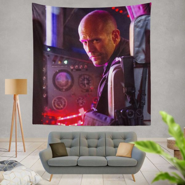 The Expendables 3 Movie Lee Christmas Jason Statham Wall Hanging Tapestry