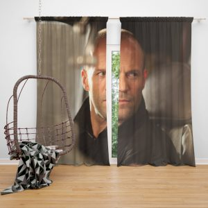 The Expendables Movie Jason Statham Lee Christmas Window Curtain