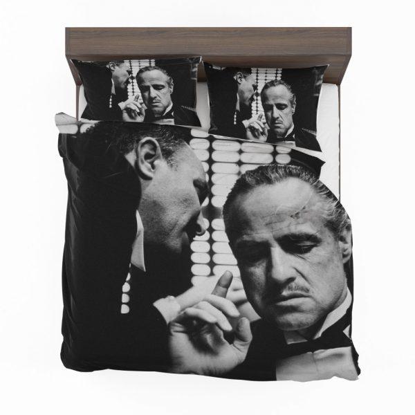 The Godfather Movie Marlon Brando Bedding Set 2