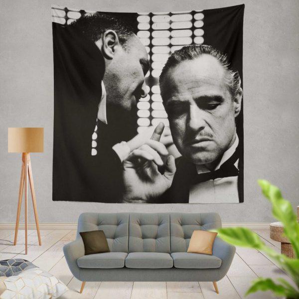 The Godfather Movie Marlon Brando Wall Hanging Tapestry