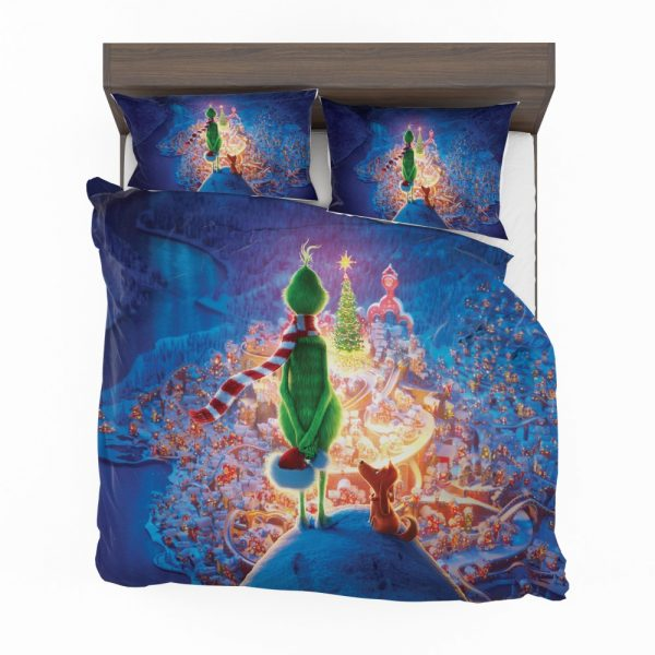 The Grinch Movie Christmas Bedding Set 2