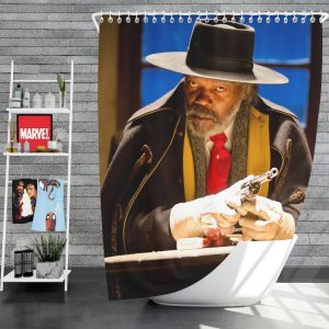 The Hateful Eight Movie Samuel L Jackson Shower Curtain