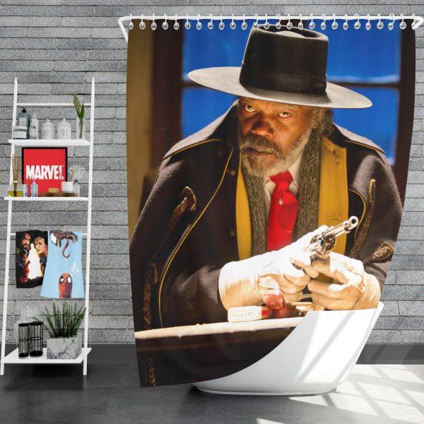The Hateful Eight Movie Samuel L Jackson Shower Curtain
