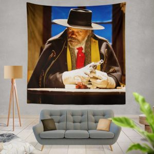 The Hateful Eight Movie Samuel L Jackson Wall Hanging Tapestry