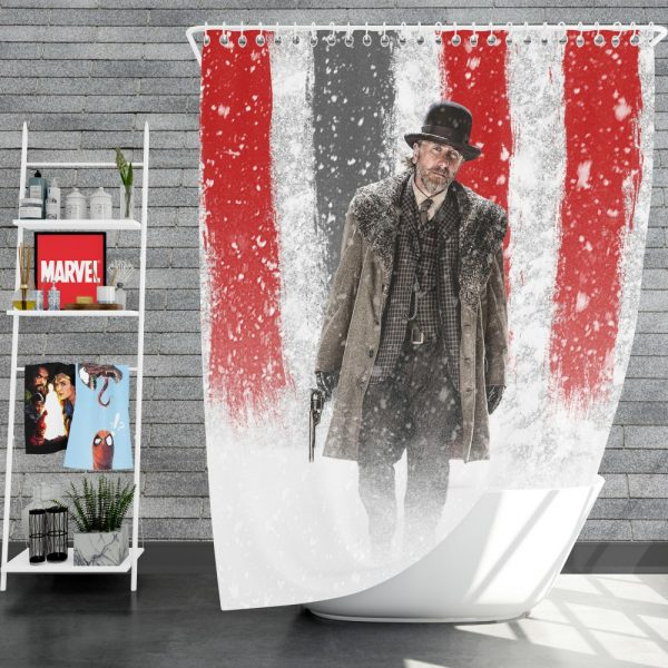 The Hateful Eight Movie Tim Roth Shower Curtain
