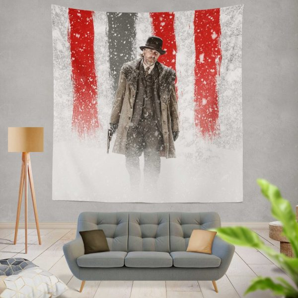 The Hateful Eight Movie Tim Roth Wall Hanging Tapestry