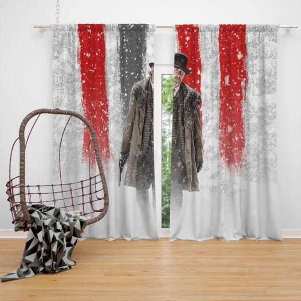 The Hateful Eight Movie Tim Roth Window Curtain